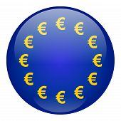 European Union Button