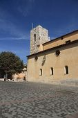 Antibes, France - Aug 30, 2014: Cathedral Of Notre Dame Antibes