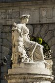 stock photo of bonaparte  - Statue of Peace in Freedom Square - JPG