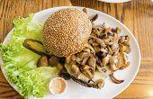 Mushroom Hamburger