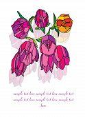 flowers, bells