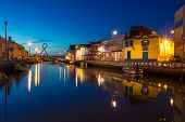 Aveiro City by night