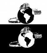 Transportation Black And White