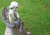 Little Angel gravestone