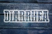 image of diarrhea  - Diarrhea Concept text on background human idea - JPG