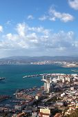 pic of gibraltar  - View of Gibraltar  - JPG