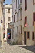Street In Italian Village
