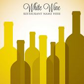 White Wine List Menu