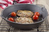 Black Pudding Boxty In A Pan