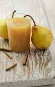 Ripe Pears And Juice
