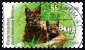 Postage Stamp Germany 2012 Northern Lynx, Animal