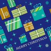 christmas presents pattern