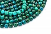 pic of malachite  - Eilat stone includes an nature alloy of several other semi - JPG