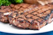 stock photo of t-bone steak  - a delicious t - JPG