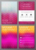 Brochure cover desgn template