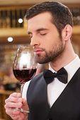 Enjoying The Best Wine.
