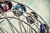 Retro Ferris Wheel Ride