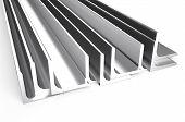Rolled Metal L-bar, Angle
