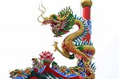 Dragon statue for chinese activity