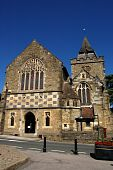 stock photo of church mary magdalene  - The Church of Saint Mary Magdalene and Saint Denys in Midhurst - JPG