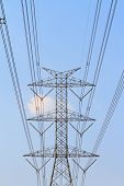 Large power pole
