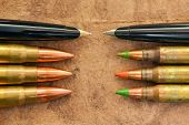 Pens And Bullets
