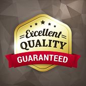 Excellent Quality Business Gold Label
