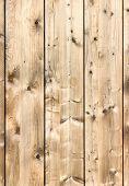 Vertical rustic wooden boards