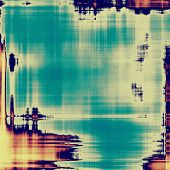 Rough vintage texture. With different color patterns: yellow (beige); gray; blue; cyan