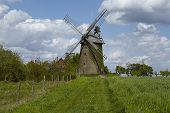 picture of windmills  - The windmill Seelenfeld  - JPG