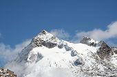Summit Urus in the Cordilleras mountain