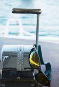 Speed spokes on yacht
