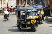Mototransport in New Delhi