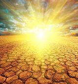 Dürre land