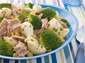 Tuna and Broccoli Pasta Shells