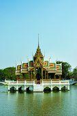 antique thai palace