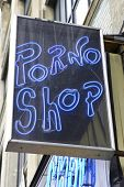 foto of porno  - porno shop sign - JPG