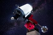 astronomical observatory telescope stars night sky [Photo Illustration]