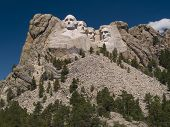 Mount Rushmore With Deep Sky