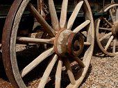 Wooden Stagecoach Wheel