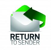 return to sender letter illustration