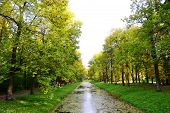stock photo of tsarskoe  - Canal in Catherine - JPG