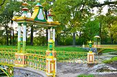 pic of tsarskoe  - Bridge across canal in Alexander - JPG