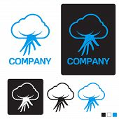 cloud service computing creative design