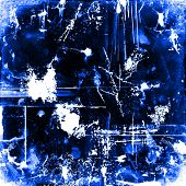 Grunge Blue Invert