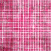 Watercolor Stripe Plaid Seamless Pattern. Colorful Gray Pink Stripes Background. Watercolour Hand Dr poster