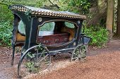 stock photo of hearse  - Broken - JPG