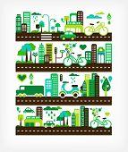 cidade verde - meio ambiente e ecologia