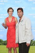 LOS  ANGELES- JUN 4: Adam Sandler, Eva Amurri Martino at the premiere of Columbia Pictures' 'That's My Boy' at the Regency Village Theater on June 4, 2012 in Los Angeles, California