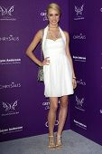 LOS ANGELES - JUN 9:  Alexis Knapp arriving at 11th Annual Chrysalis Butterfly Ball at Private Residence on June 9, 2012 in Los Angeles, CA